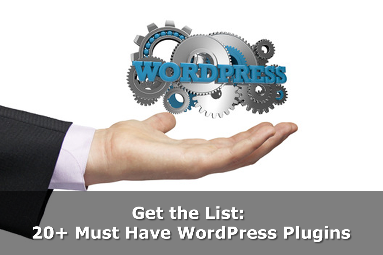 20 must have wordpress plugins